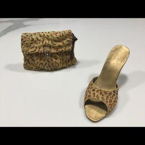 Minature Purse & Shoe